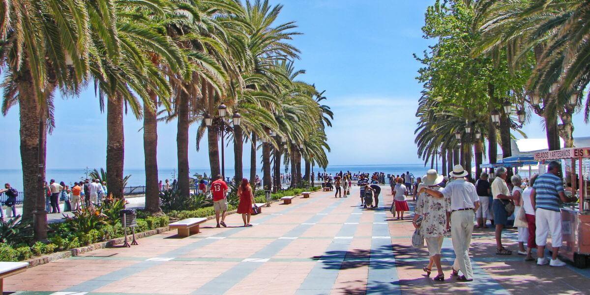 Urlaubsort Nerja an der Costa del Sol