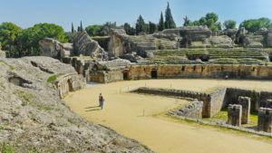 Römisches Amphitheater in Itálica