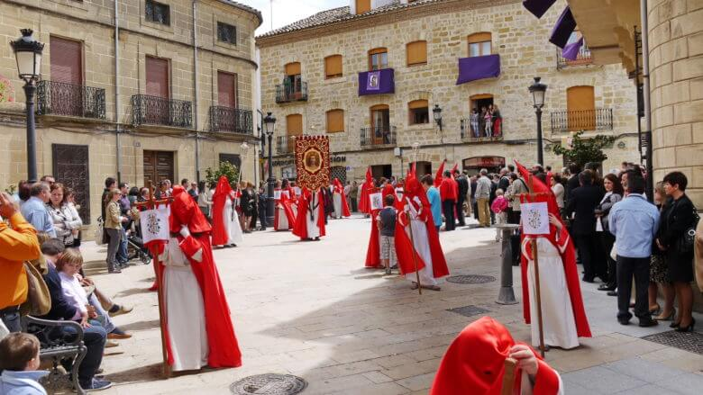Semana Santa: in Baeza (Provinz Jaén/Andalusien)