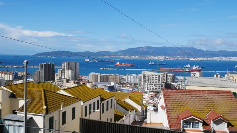 Schiffe in der Bucht von Algeciras