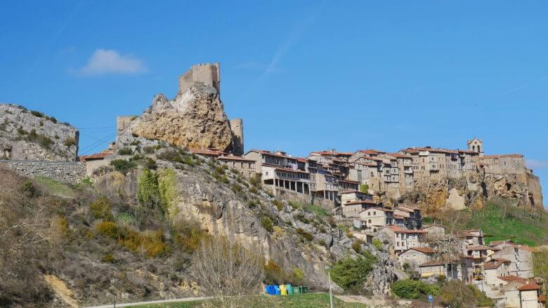 Castillo und Casas Colgadas von Frías