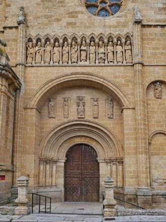Portal der Kathedrale von Ciudad Rodrigo