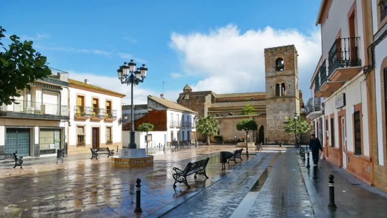 Die Kirche Santa María de la Granada
