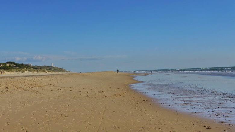 Playa de La Barrosa in Novo Sancti Petri
