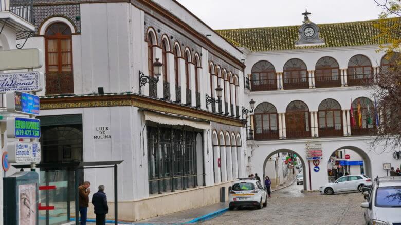 Casino und Rathaus