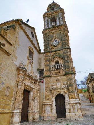 Iglesia y Torre de la Merced in Osuna