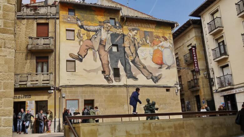 Wandbild Los Borrachos (Die Betrunkenen)