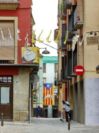 Gasse in Olot