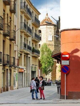 Im Zentrum von Sant Joan de les Abadesses