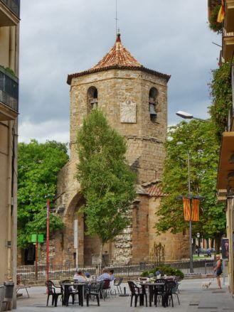 Turm der Kirche Sant Pol de les Abadesses