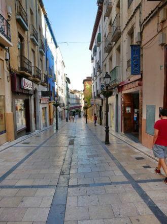 Calle de la Duquesa de Villahermosa in Huesca