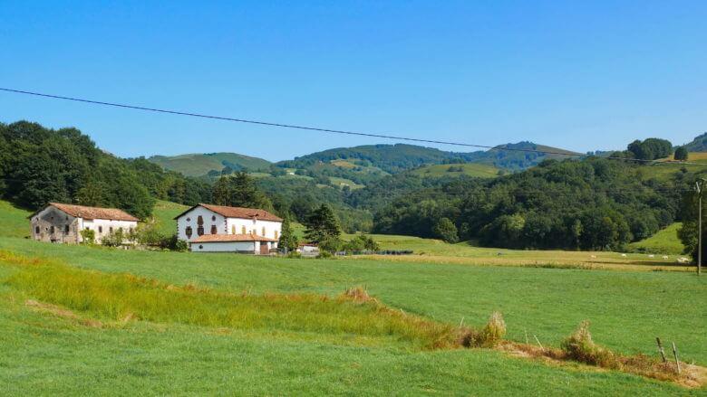 Bauernhof im Valle de Baztan