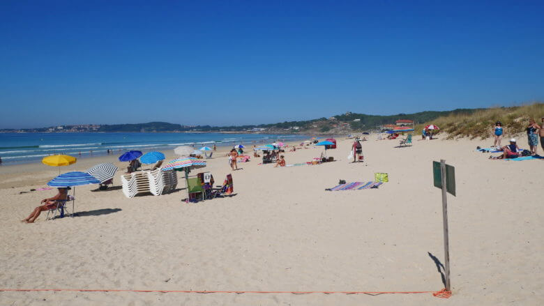 Strand Praia da Lanzada