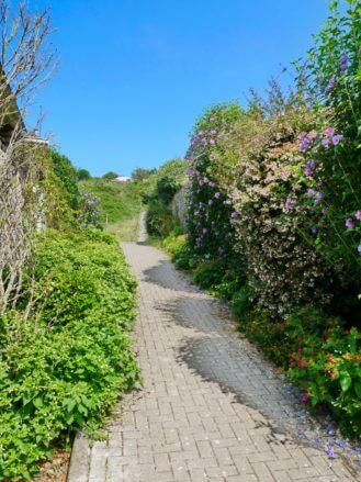 Fußweg zum Aussichtspunkt La Atalaya