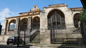 Die Kirche Santa María de la Asunción in Laredo
