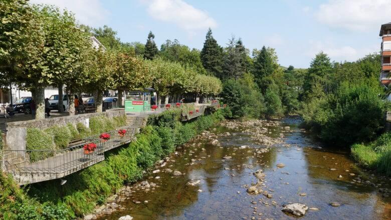Der Fluss Miera bei Liérganes