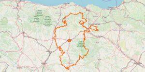 Burgos Provinz Karte: Interessante Reiseziele, Städte und Orte in der Provinz im Norden von Kastilien und León