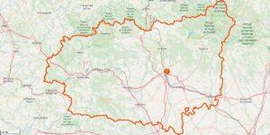 Léon Provinz Karte: Interessante Reiseziele, Städte und Landschaften