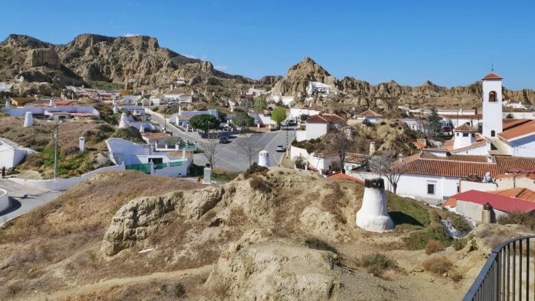 Das Höhlenviertel Barrio de las Cuevas