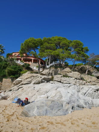 Die Costa Brava bei Sant Antoni de Calonge