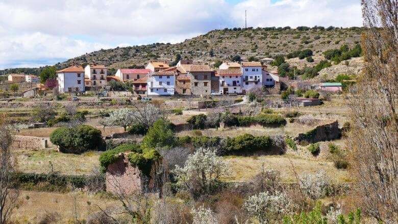 Umgebung von Mora de Rubielos in der Provinz Teruel