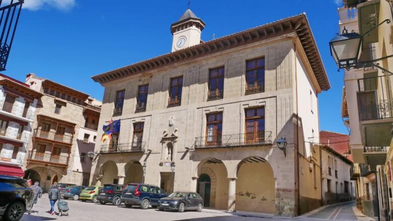 Plaza de la Villa in Mora de Rubielos