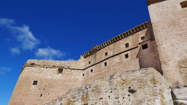 Burg von Mora de Rubielos