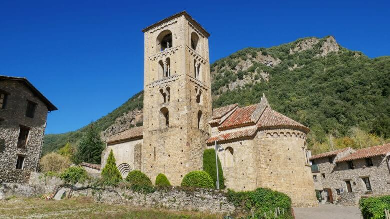 Das Dorf Beget in den Pyrenäen