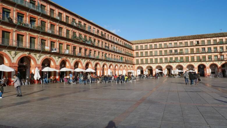 Hauptplatz in Córdoba