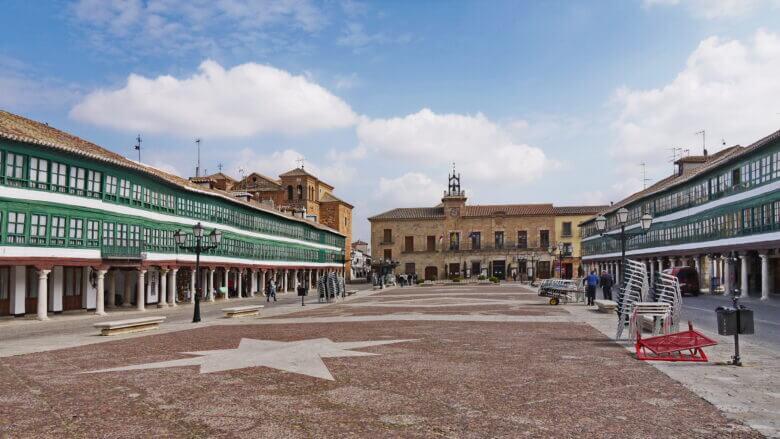 Plaza Mayor in Almagro