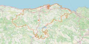 Kantabrien Karte