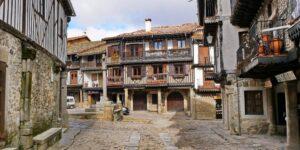 Im Dorfzentrum von La Alberca