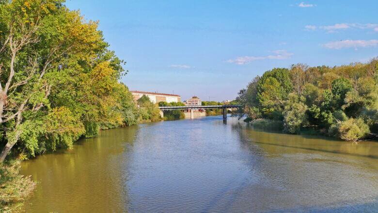Der Ebro bei Logroño