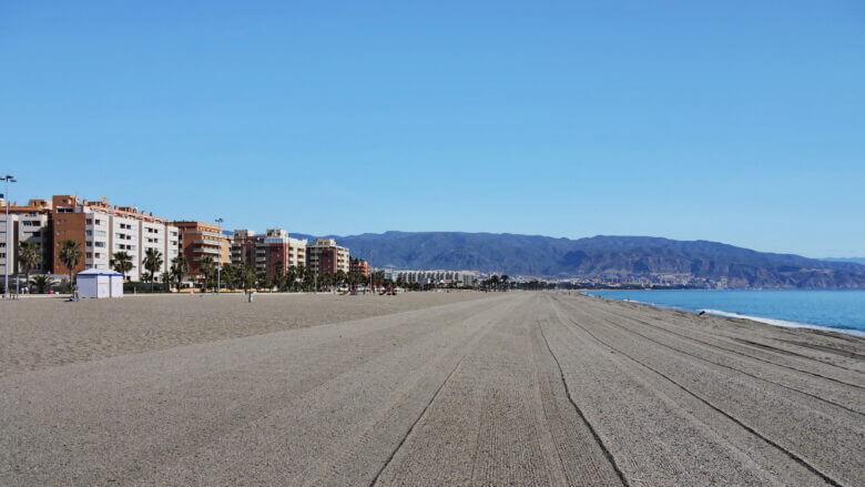 Strände vor Roquetas de Mar