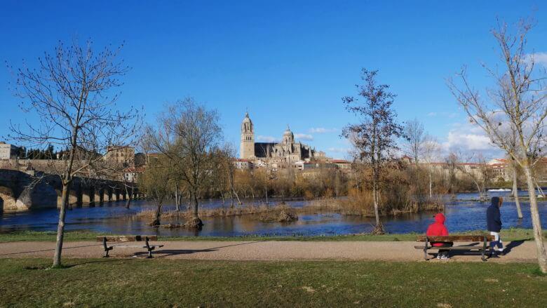 Salamanca im Frühling