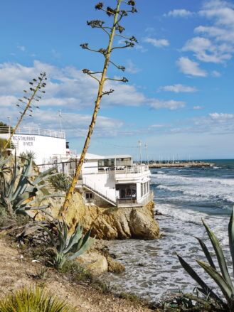 Restaurant am Meer in Sitges
