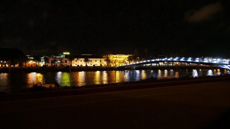 El Puerto de Santa María bei Nacht