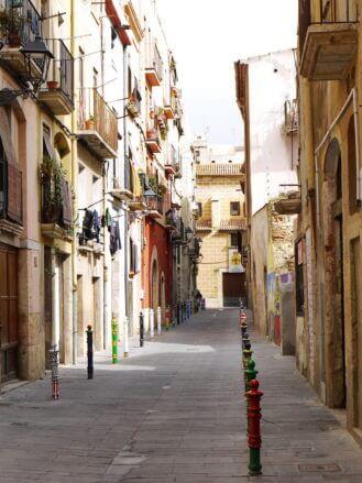 Historische Gasse in Tarragona