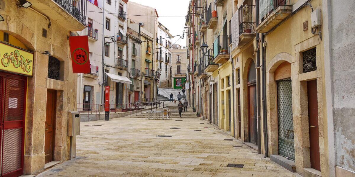 In der Altstadt von Taragona