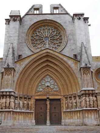 Portal der Kathedrale von Ta