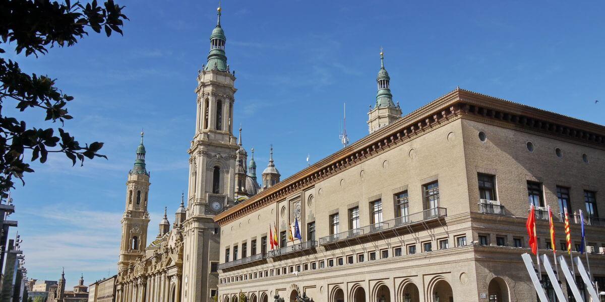 Kathedrale El Pilar in Zaragoza