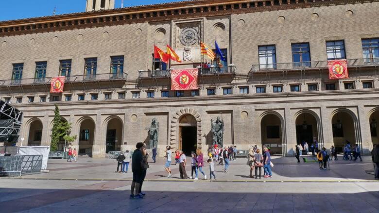 Rathaus von Zaragoza